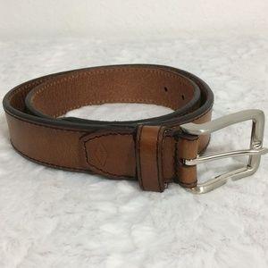 Fossil Genuine Leather Belt Size 30 x 34